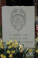 Front plaque outside of Ashland Police Department